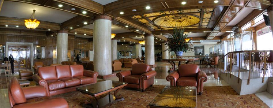 Lobby. Fuente www.hotelcrowneplazatequendama.com